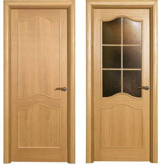 Преимущества шпонированных дверей