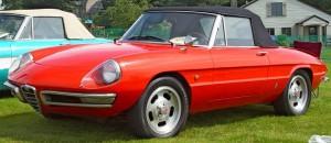 Гонка Alfa Romeo Duetto Spider