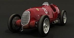 Гонка Alfa Romeo P3 Type B