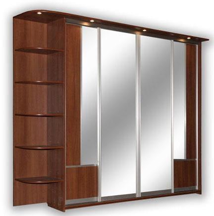 Виды встроенных шкафов.