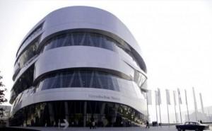 Фото музея Mercedes-Benz