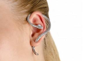 Серьги-змея