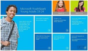 YouthSpark корпорация Microsoft