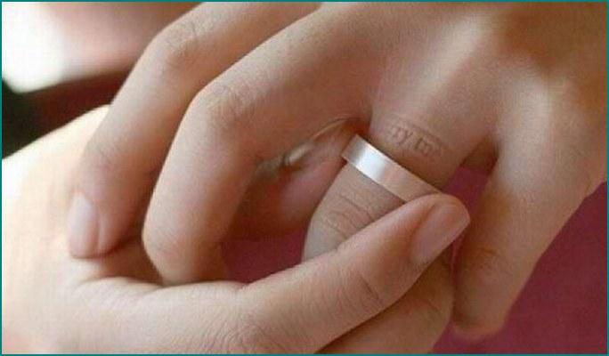 Необыкновенные обручальные кольца