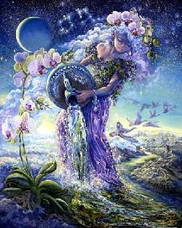 Режимы кормления и сна «Водолея» под лунным знаком водолея